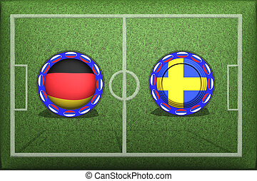Football, World Cup 2018, Game Group F, Germany Sweden