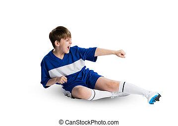 footballeur, jeune