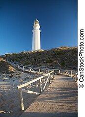 footbridge to lighthouse