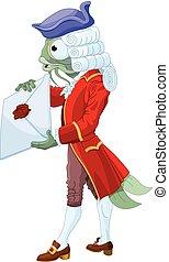 footman, fish