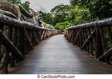 footpath, dierentuin