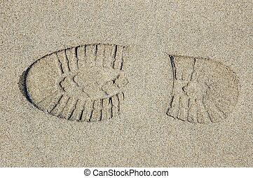 footprint texture