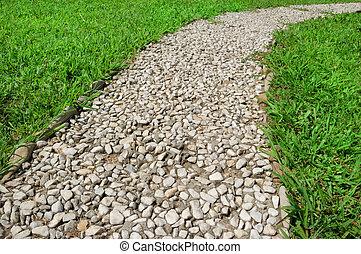footway in garden