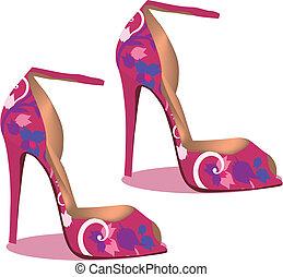 footwear - shoes with heels