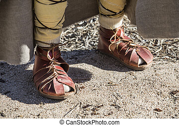 Footwear used by pre-romans inhabitants of iberian peninsula