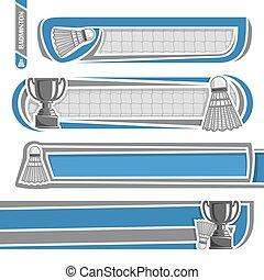 For badminton records