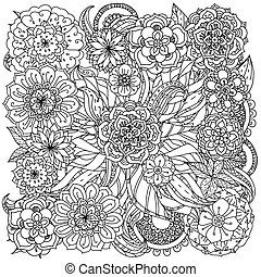 For coloring book