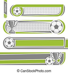 For football (soccer) records - llustrations for use text on...