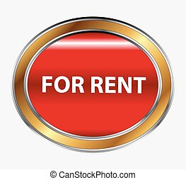 For rent button