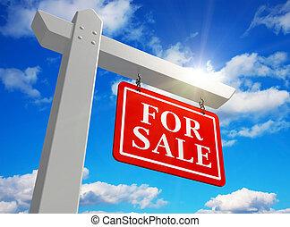 'for, sale', 房地產 標誌