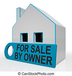 For Sale By Owner House Means No Real Estate Agent