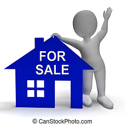 For Sale House Shows Property On Market - For Sale House...
