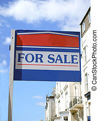For sale house sign