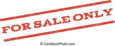 For Sale Only Watermark Stamp