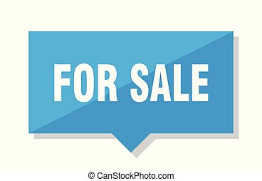 for sale price tag
