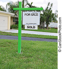 For Sale Relocation Sold Sign