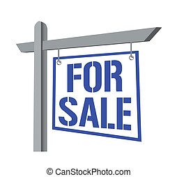 For Sale Sign - For sale Sign. vector file also available.