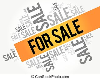 FOR SALE words cloud