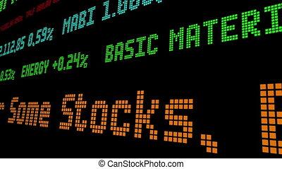 For Some Stocks Bad News Is Now Good News