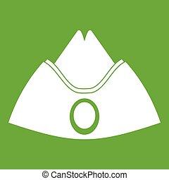 Forage cap icon green