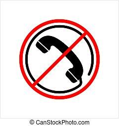 Forbidden Call Icon