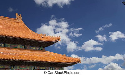 Forbidden City, Beijing, China -- was the Chinese imperial...