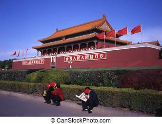 Forbidden city Beijing - Forbidden city in Beijing China No...
