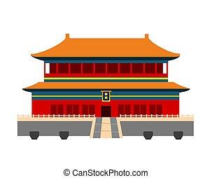 Forbidden City in Beijing, China.