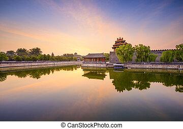 Forbidden City Moat of Beijing