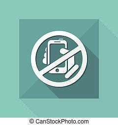 Forbidden phone icon