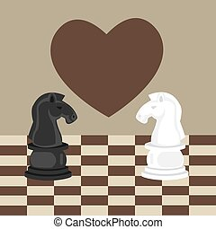 forbidden taboo no romance two horse chess fall in love