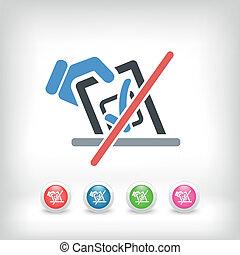 Forbidden vote