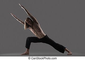 cordonnier pose yoga variation papillon titli