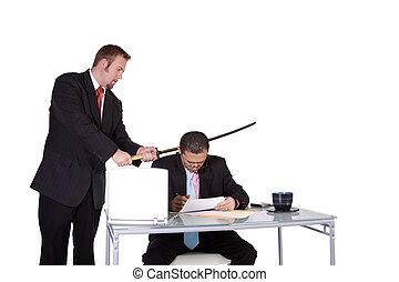 forcer, contrat, signe
