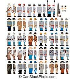 forces armées, confédération