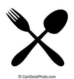 forchetta, cucchiaio