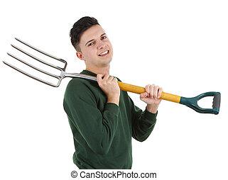 forchetta, giardiniere