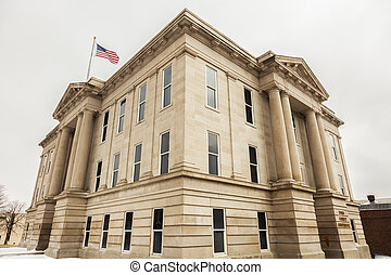 Ford County Courthouse in Dodge City, Kansas.