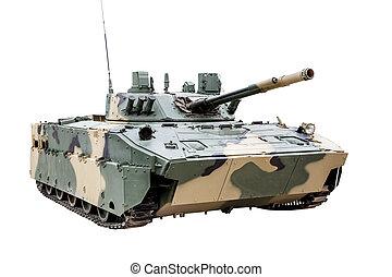 fordon, luftburen, isolerat, strid, bmd-4