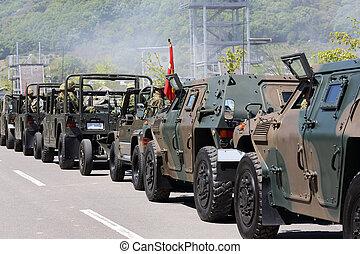 fordon, militär