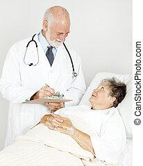 fordulók, orvos, övé, készítmény
