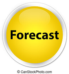 Forecast premium yellow round button