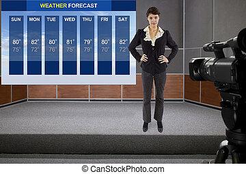 forecaster, temps