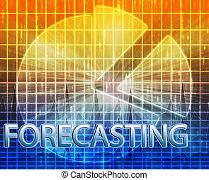 Forecasting budgeting illustration