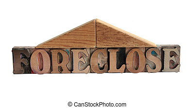 foreclose with roof