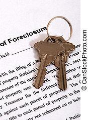 Foreclosure form & Housekeys
