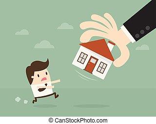 Foreclosure Home.