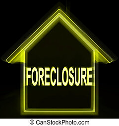 Foreclosure House Home Repossession To Recover Debt