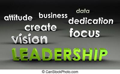forefront, liderazgo