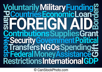 Foreign Aid Word Cloud